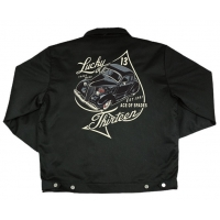 Blouson Hot-rod noir Lucky 13.