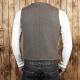 1937 roamer vest grey wool