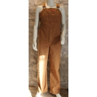 Salopette Dickies bib overall Brown duck.