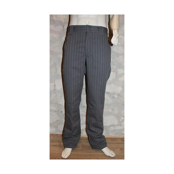 Pantalon Dickies 873 gris rayé.