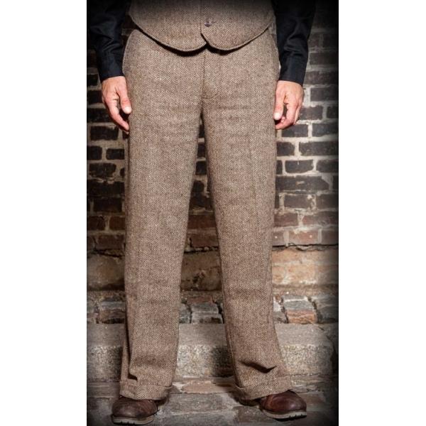 Pantalon vintage homme en laine Rumble 59.