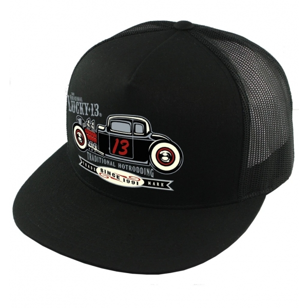 Casquette hot-rod traditionnel Lucky 13.