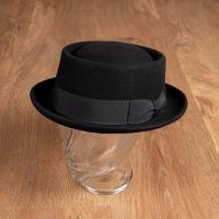 Chapeau rétro Homme en feutre années 30 Pike Brothers.