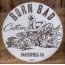Sticker Born Bad Hot-rod.