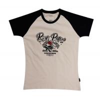 T-shirt femme kustom Rusty Pistons.