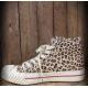 basket léopard burnout sneaker