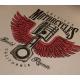T-shirt moto femme flying pistons
