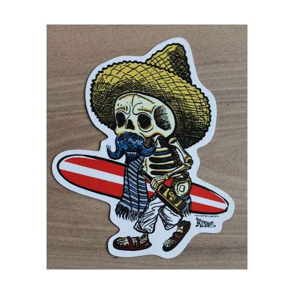 Sticker mexicain oldschool.