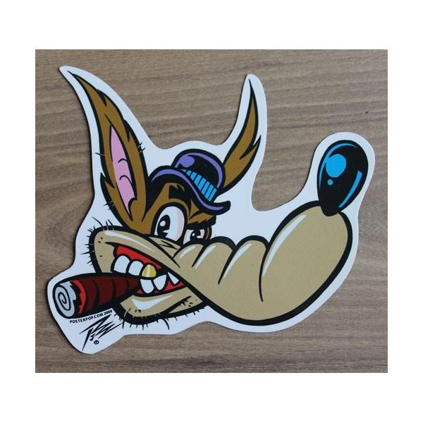 Sticker kustom by Pizz.