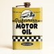 Flasque alcool motor oil