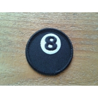 Patch lucky ball, boule de billard n°8