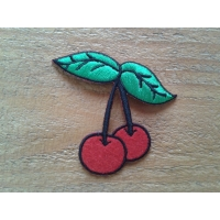 Patch cerise rockabilly