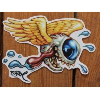 Sticker flying eye droit.