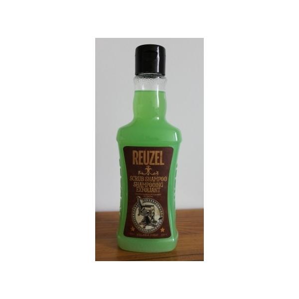Shampooing exfoliant Reuzel spécial gomina.