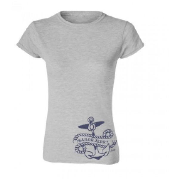 T-shirt femme ancre tattoo Sailor Jerry.
