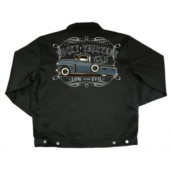 Blouson Lucky13, pick-up low and evil.