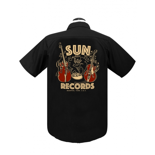 Chemise rock'n'roll Sun records.
