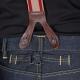jeans pour bretelles à l'ancienne