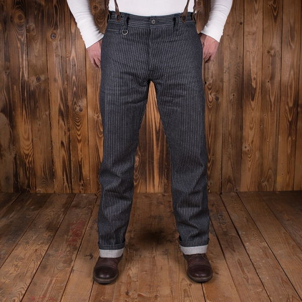 Pantalon Pike brothers 1942 Hunting Pant blue wabash.