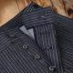 pantalon vintage rayé