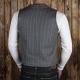 1937 roamer vest grey wabash