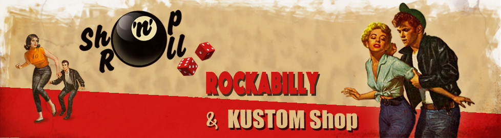 Boutique rockabilly, pin-up et kustom